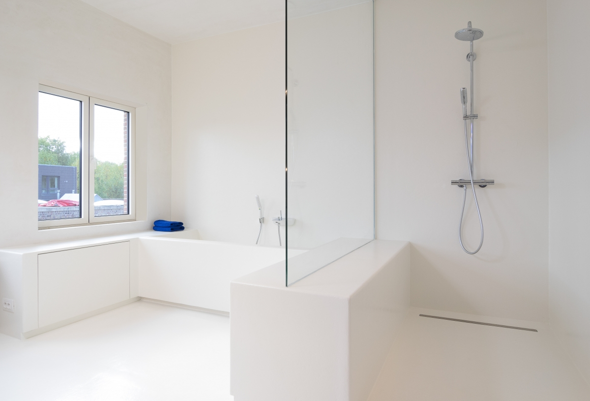 Merveilleux image douche moderne design interieur salle bains